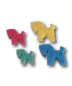 Hestesvampe i flere farver str. lille