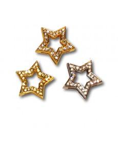 Bling Bling 18 mm. stjerne