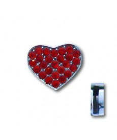 Bling Bling hjerte Charms