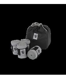 Bandager - Elastik, med velcro, 4-pakning